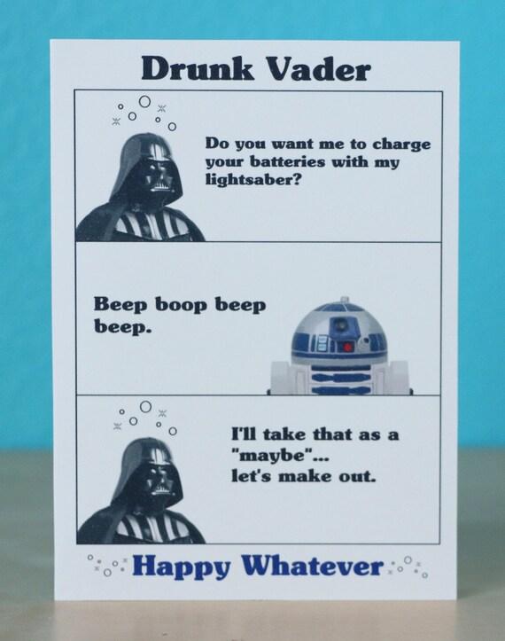 Auguri Matrimonio Star Wars : Star wars darth vader birthday card jede gelegenheit jubiläum
