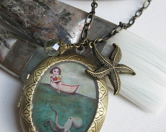 Locket - Maggie and the Octopus