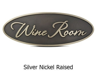 Room Sign, Hotel Room Sign, Hospitality Custom Room Sign 12 x 4 inches. Made in USA