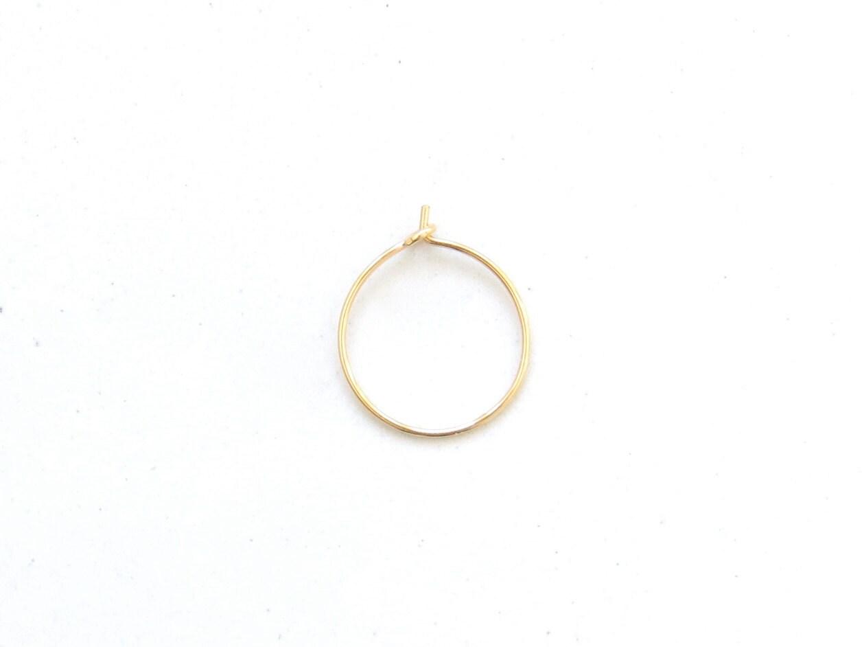 thin gold nose ring gold nose ring thin gold nose hoop thin