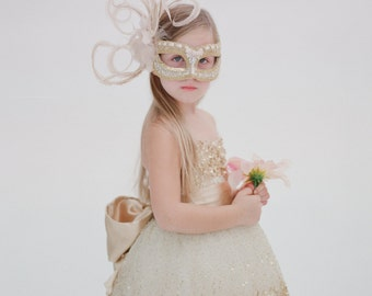 SALE- The Constellation Flower Girl Dress