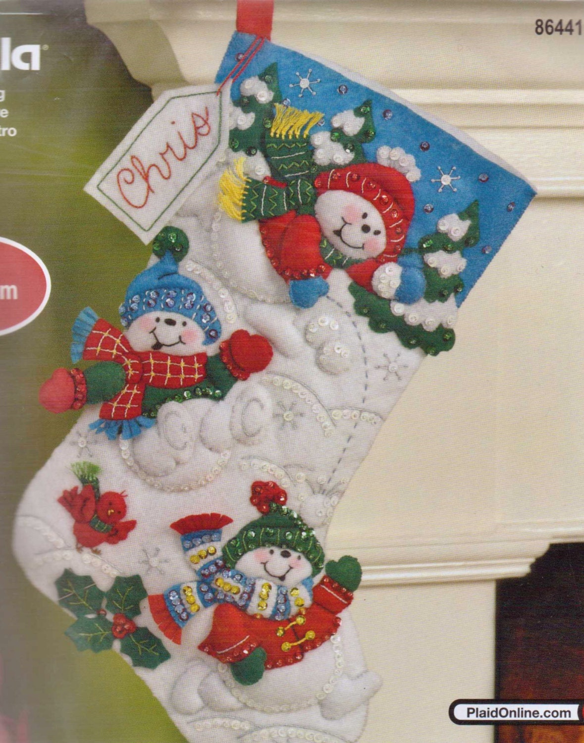Felt Christmas Stockings Kits
