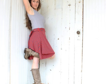 Organic Wrap Skirt - Stripes and Solids Available - Many Colors