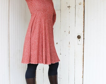 The Wanderer Hooded Dress - Hemp and Organic Cotton - Choose your Colors