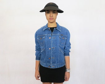 The Vintage Classic Indigo Blue Wrangler Denim Jacket