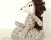 Crochet pattern Hedgehog -  amigurumi hedgehog animal toy pattern - Instant Download PDF by Bigunki