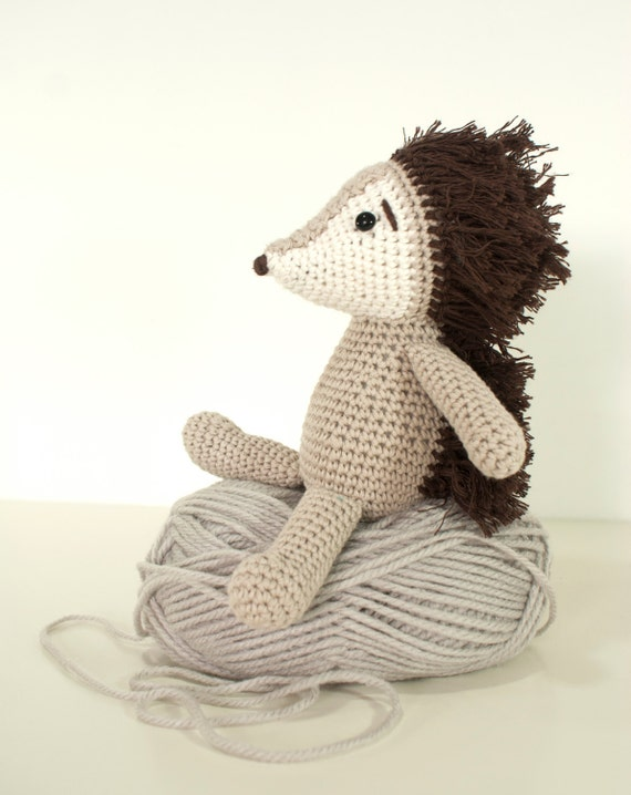 Amigurumi One Piece Patrones : Crochet pattern Hedgehog amigurumi hedgehog animal toy