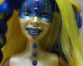 RESERVED 4 MELISSA Ooak cyborg hybrid barbie - with full reroot