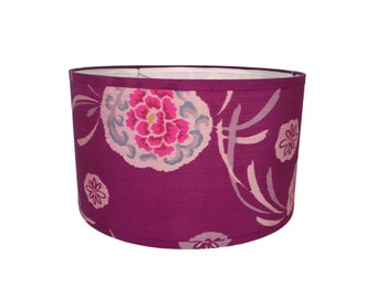 Peony Kimono Lampshade - 15 x 15 x 9