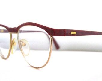 1980s Womens Eyeglasses //  80s 90s  Vintage Frames // Style m6081 // Silhouette Brand