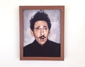 Adrien Brody as Dmitri - Grand Budapest Hotel Print - Portrait Painting - Wes Anderson - 5x7 8x10 11x14