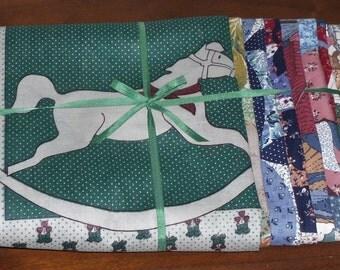 Sale Pillow Panels Destash Grab Bag Cotton Fabric More Than 15 Pieces