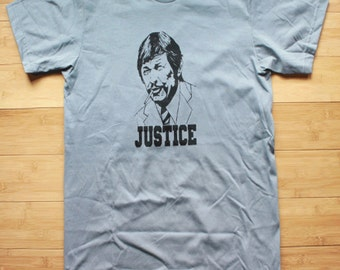 Charles Bronson Justice Death Wish Shirt American Apparel
