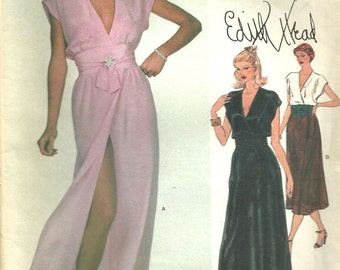 The Nifty Fifties — Sewing pattern designs by Edith Head.