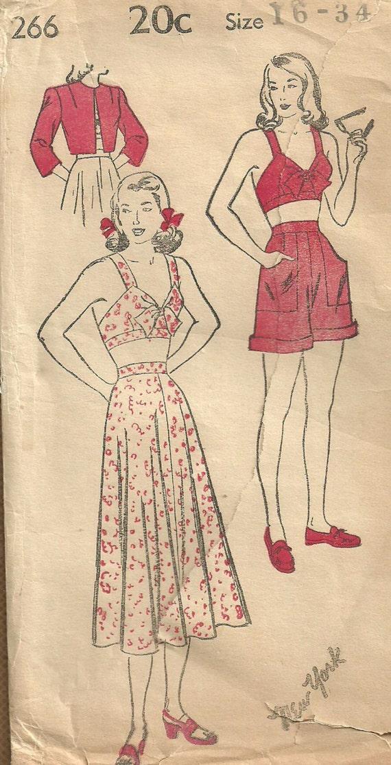 Vintage Swim Suit Pattern 10