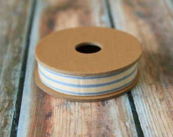 Light BLUE 3 STRIPE ribbon