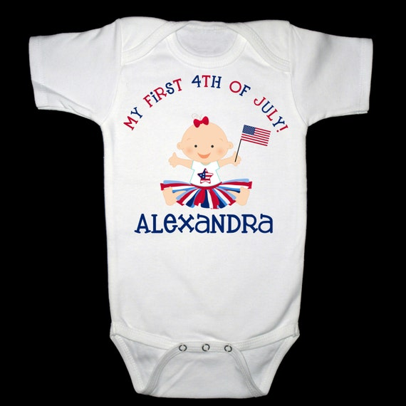inktastic USA Baby Vintage US Flag Infant Tutu Bodysuit