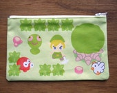Hyrule Field Zipper Pouch - Legend of Zelda
