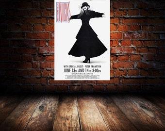 Stevie Nicks 1986 Cleveland Concert Poster