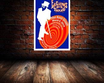 Les Claypool 2014 Kent Concert Poster 1st Edition Print