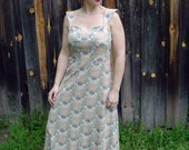 SALE - meerwiibli endless flowers maxi dress - M and L in stock