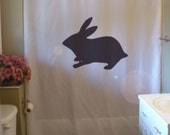 bunny rabbit Shower Curtain Easter Paques holiday spring life fertility bathroom decor kids bath curtains custom size long wide waterproof