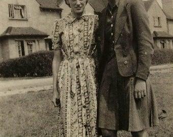 1940's Photograph - Teenage Girls