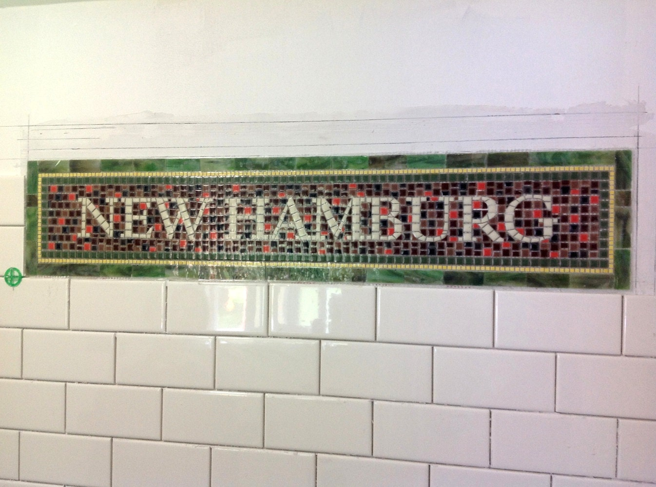 Nyc subway tiles
