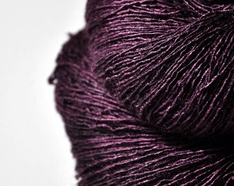 Tangled web of hope - Tussah Silk Fingering Yarn