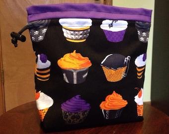 Goth Cupcakes Drawstring Bag