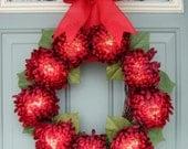 Valentine Wreath - Valentine Door Wreath