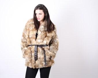 70s Fur Coat   - Fur Coats  -  The Manhattan in October Coat   - 5039
