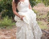 Boho Wedding Dress - Inspired by Jackie Kennedy