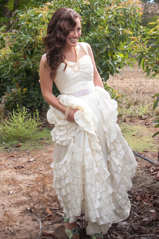Jackie Kennedy Dresses: Boho Wedding Dress Inspired By Jackie Kennedy