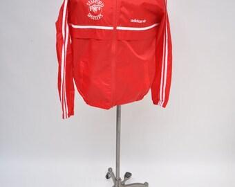 STANFORD spotters vintage ADIDAS TRACK jacket warm up 80s trainer medium