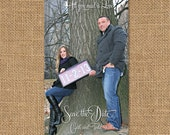 Custom Photo Save The Date Magnets
