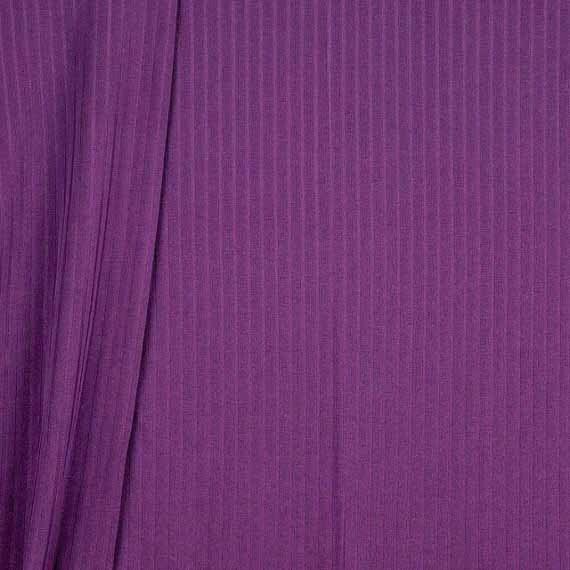 Circular Knitting Fabric : Vintage slinky knit circular fabric stripes by