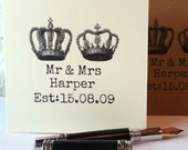 Personalized  'Mr and Mrs' Anniversary or Wedding Card