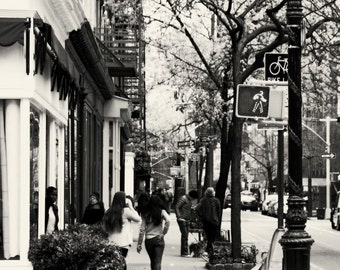 New York City Photo - Urban Photography - Perry Street NYC Photo - West Village Print - Shopping New York City Home Decor Wall Art