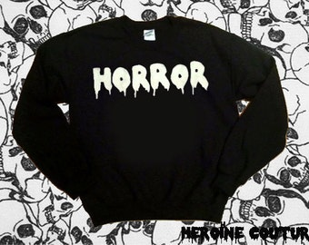 Customizable Horror Sweatshirt