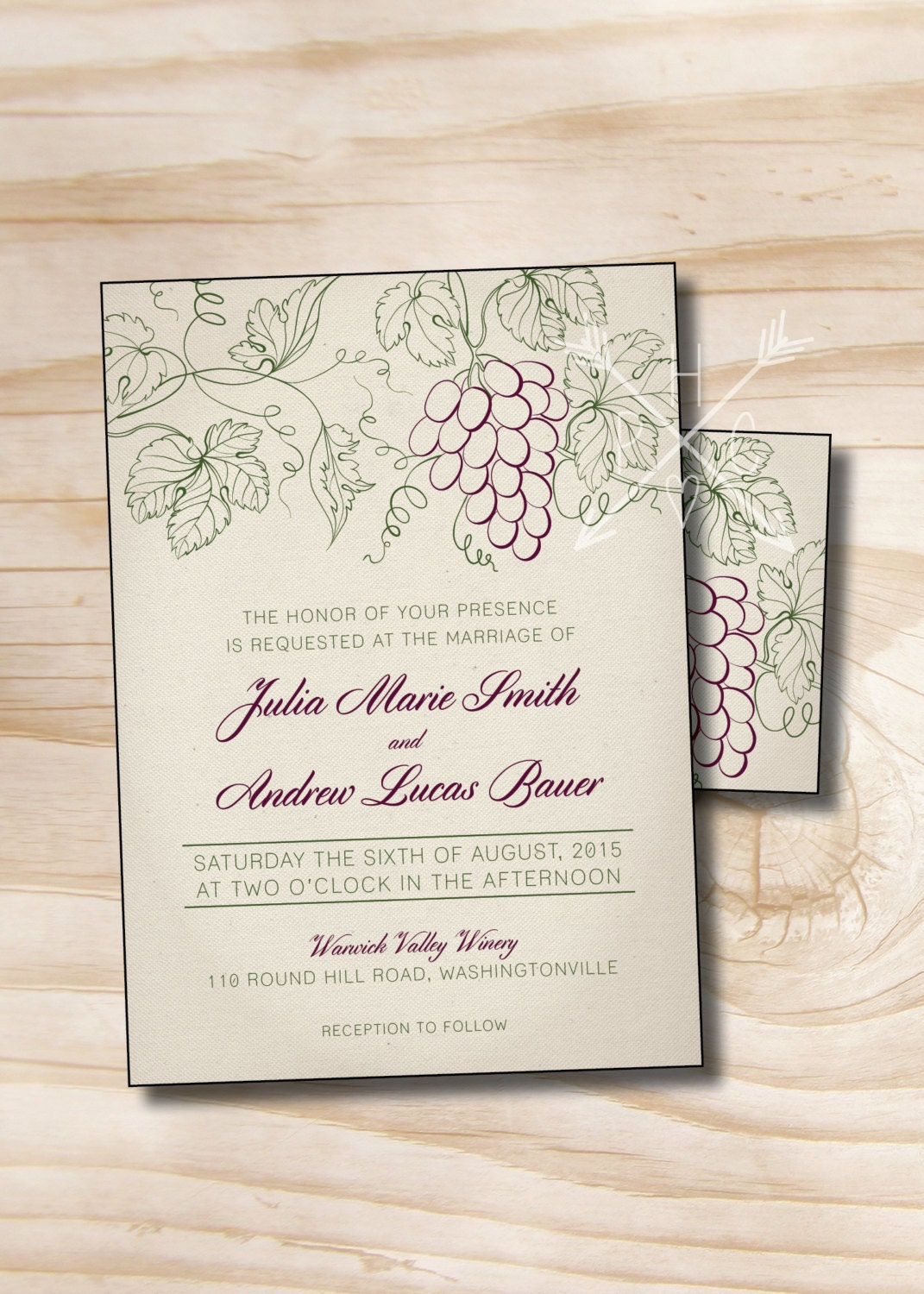 rustic wedding invitations with response - 28 images - rustic ...