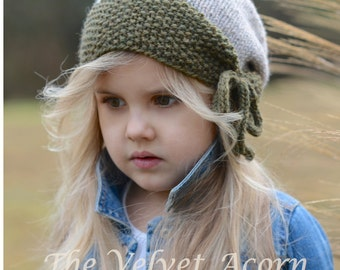 Knitting PATTERN-The Geneva Hat (Toddler, Child, Adult sizes)
