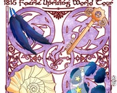Pandora Celtica Faerie Uprising Tour of 1815 T-Shirts
