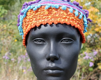 Colorful Cute Crochet Cap... for a Child...