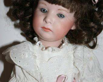 Doll German Porcelain Reproduction