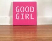 Good Girl Original Acrylic Painting