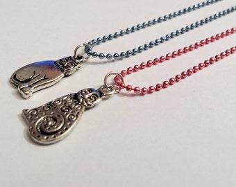 Sale! delicate cat Necklaces