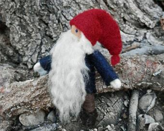 Tomten Doll - Nisse - Waldorf Gnome - Bendy Doll -  Tomtenisse - Tomte