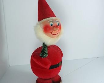 ANTIQUE GERMAN Santa Claus candy container. Nodder cs