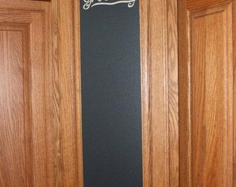 Cabinet Door Chalkboard - Customizable
